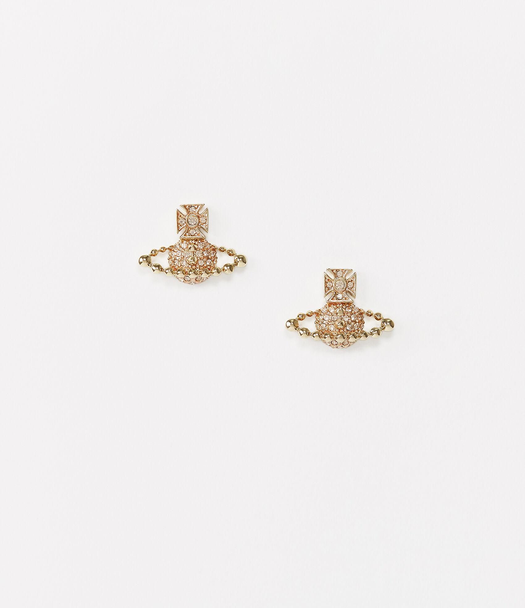 7a263777211f4e Lena Bas Relief Earrings Gold Tone