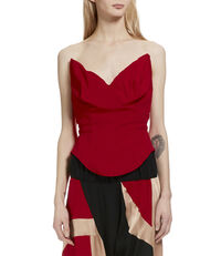 Corset Top Red