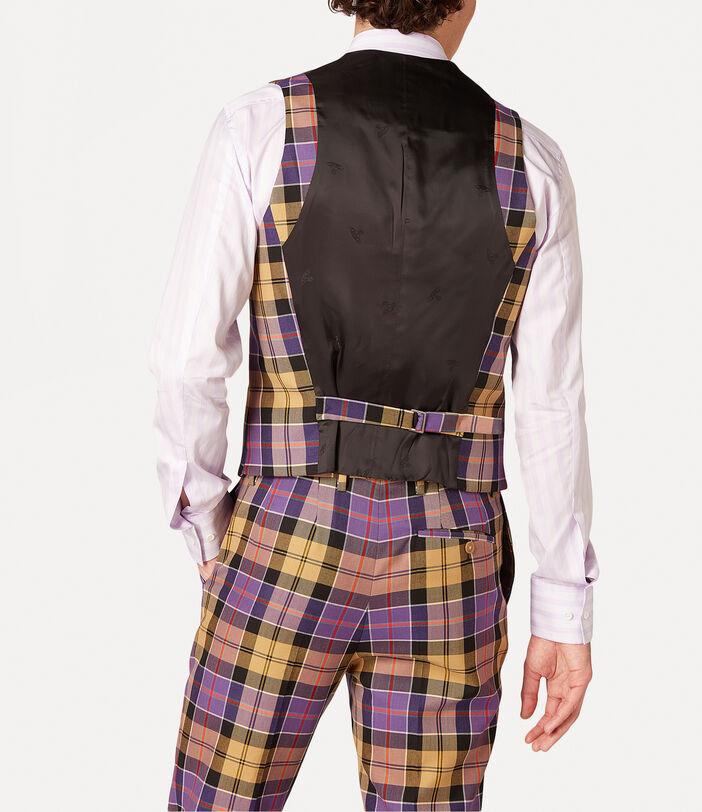 New Classic Waistcoat Tartan 4