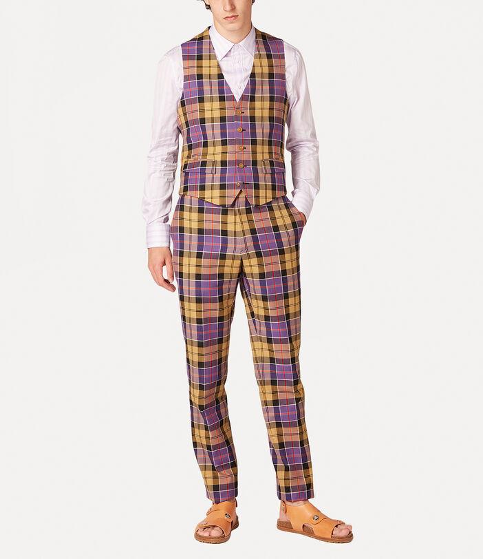 New Classic Waistcoat Tartan 2