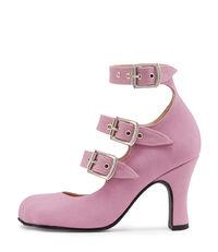 Lilac Animal Toe 3-Straps