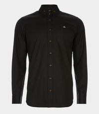 Two Button Krall Shirt Black