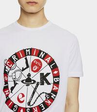 Roulette Joker Peru T-shirt White