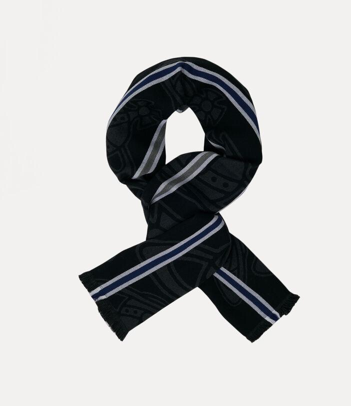 Paris orb scarf 2