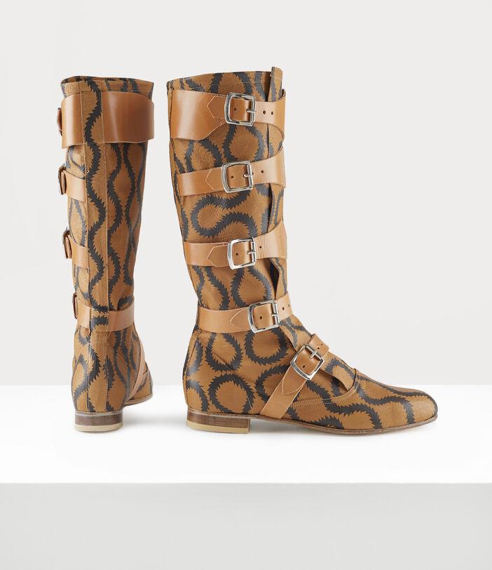 Pirate Boots Tan/Brown 2