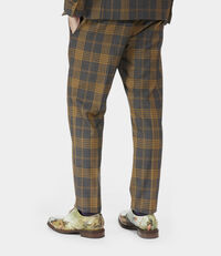 Peacock Trousers Amber on Grey