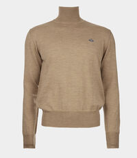 Fine Turtleneck Jumper Camel