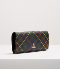 Derby Classic Credit Card Wallet Hunting Tartan
