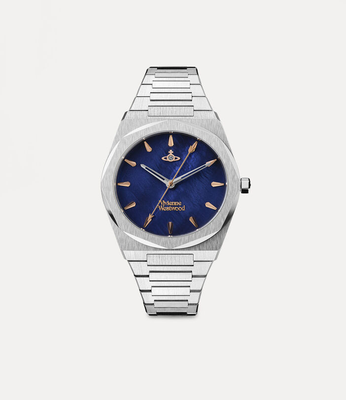 Limehouse Watch Blue/Silver 1
