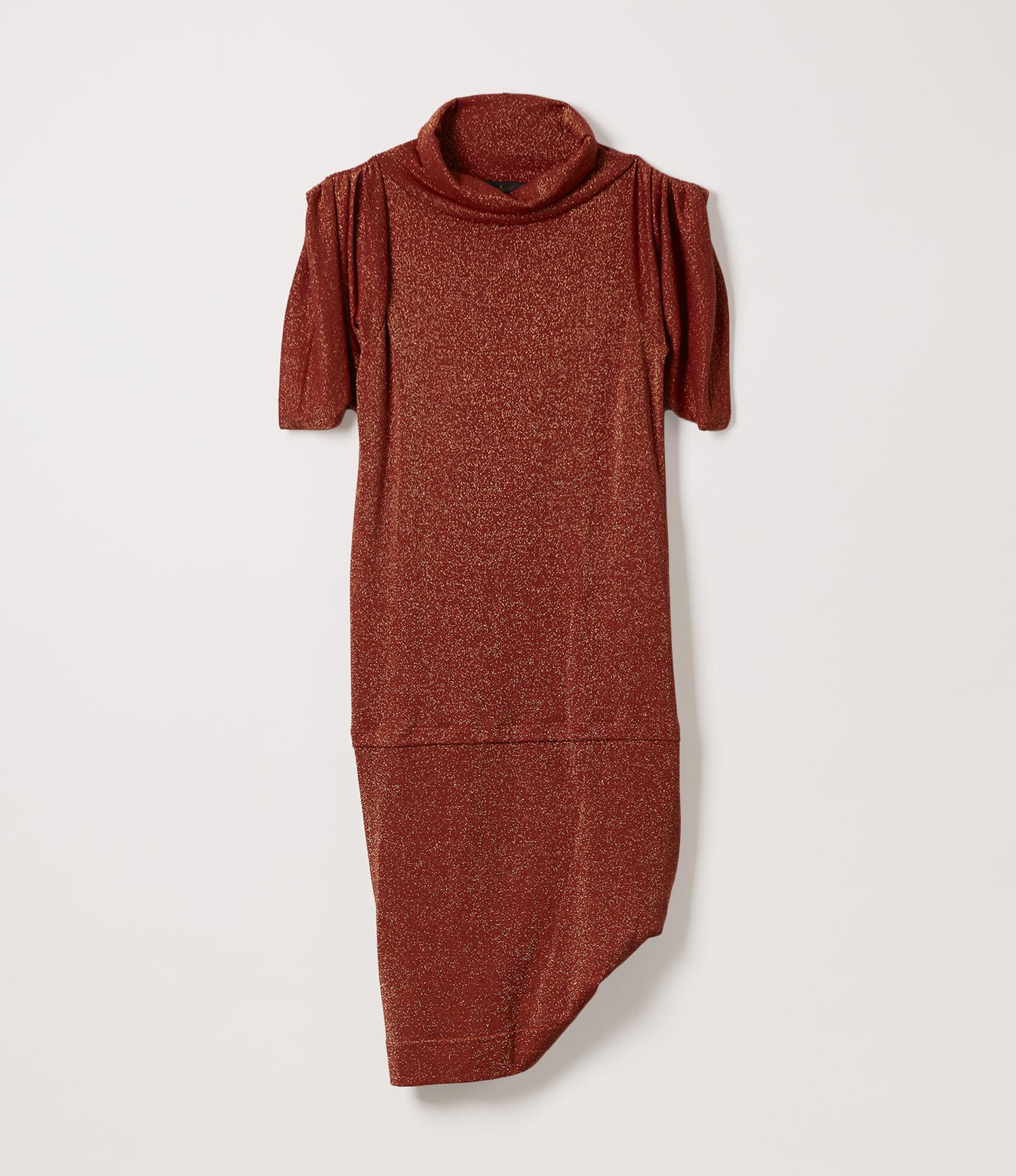 6f9f3a7df Vivienne Westwood Women's Designer Tops and Shirts   Women' clothing    Vivienne Westwood - Punkature Dress Rust