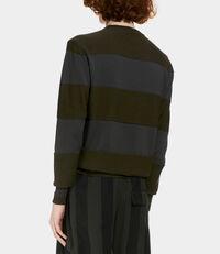 Roundneck Knit Green/Grey/Pink