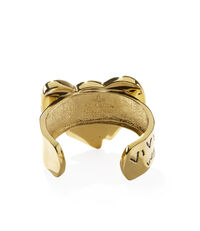 Arabella Bow Cuff Antique Gold Tone