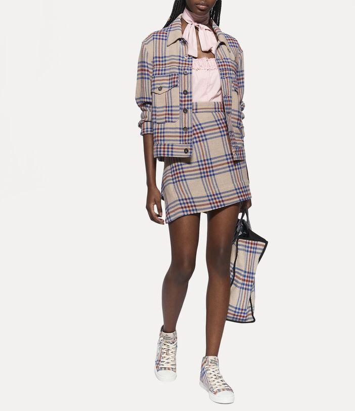 Infinity Skirt Tartan 3