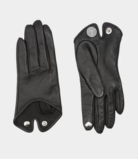 Classic Gloves Heart Black