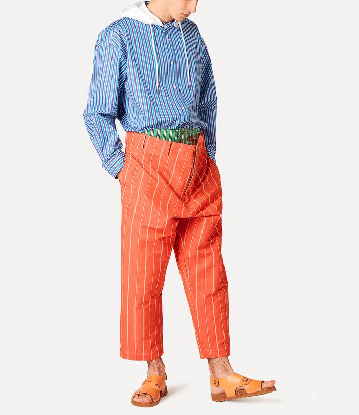 Alien Trousers Terracotta 2