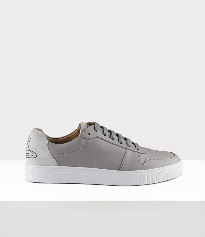 Men'S Low Top Apollo Trainers Grey 1