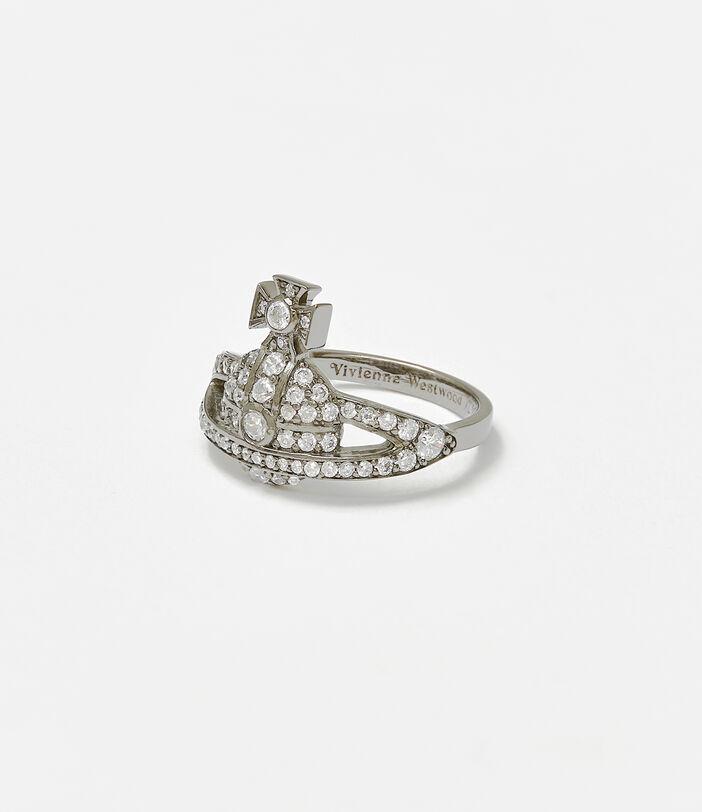 Mini Orb Ring Silver 1