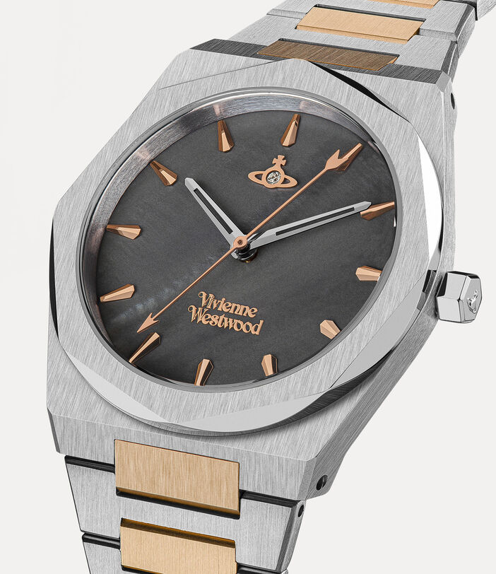Limehouse Watch Rosegold/Charcoal 2