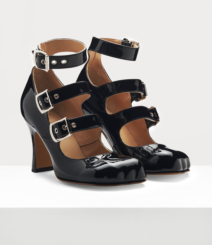 ANIMAL TOE 3-STRAP BLACK 2