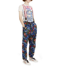 Philippo Trousers Multi on Blue