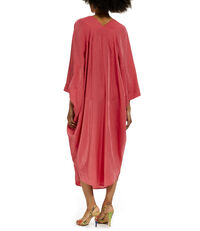 Long Musa Dress Fuchsia