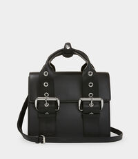 Alex Medium Handbag Black
