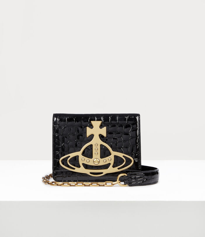 Archive Orb Crossbody Bag Black/Brass 1