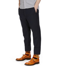 Cropped JB Trousers Blue
