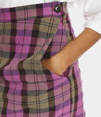 Alcoholic Skirt Pink Tartan