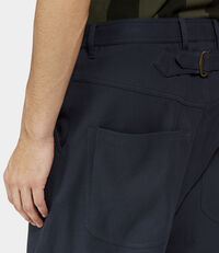 Samurai Trousers Dark Navy