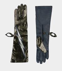 Long Gloves Blue