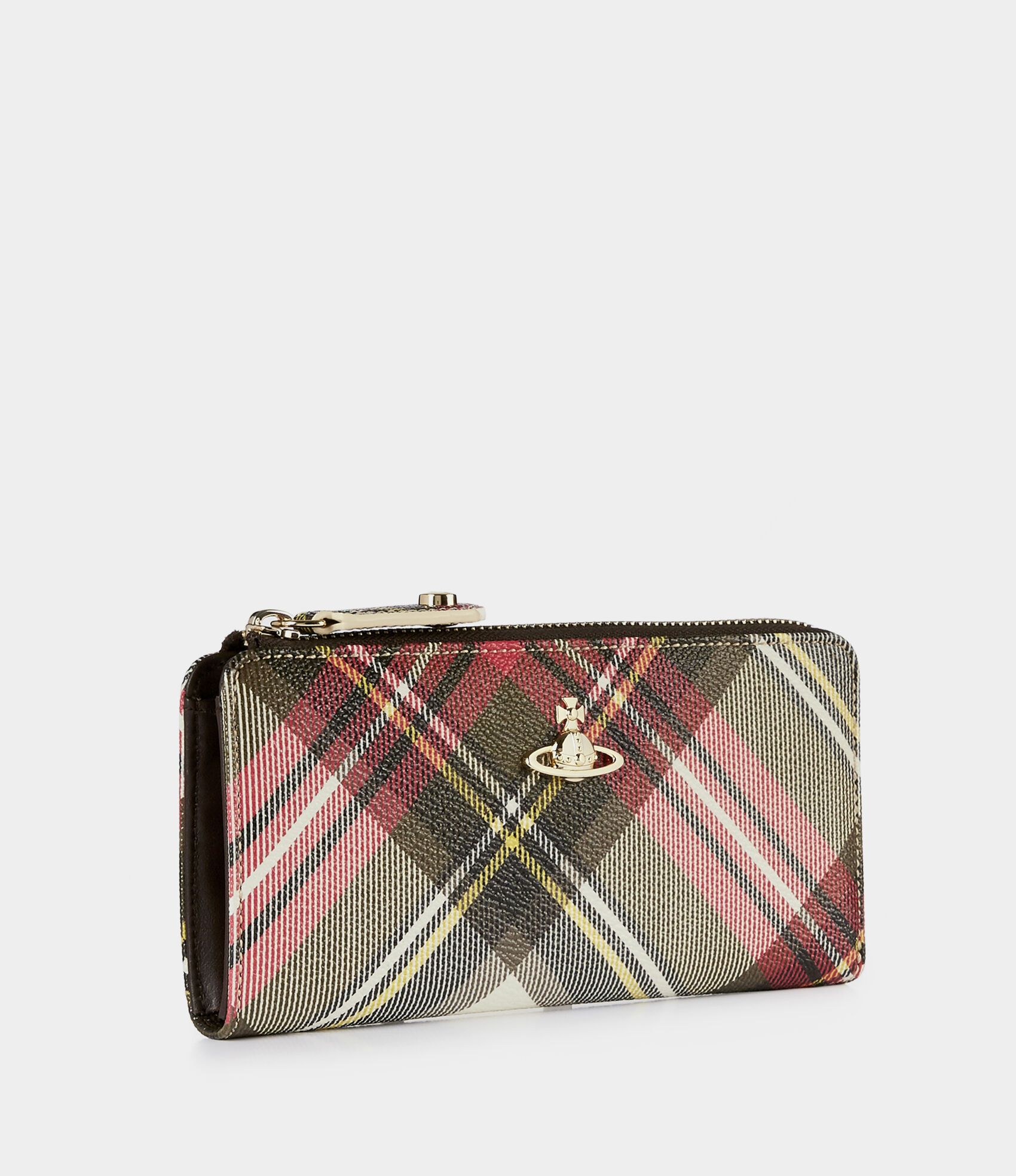 0972705de0 Vivienne Westwood Women's Designer Wallets and Purses | Vivienne Westwood -  DERBY ZIP WALLET