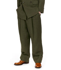 Gable Trousers Olive Green