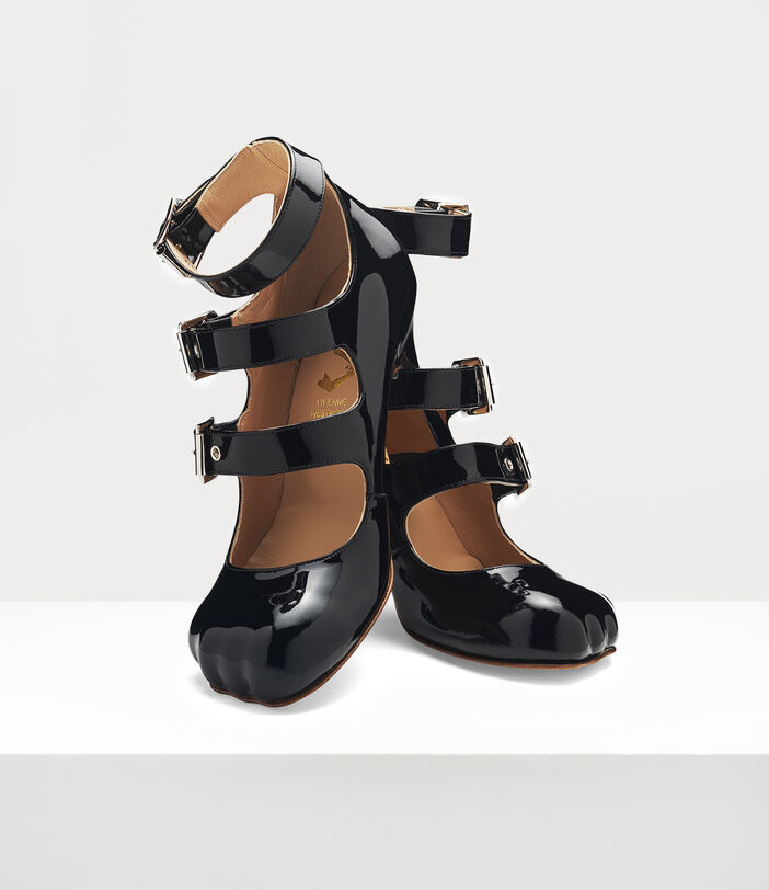 ANIMAL TOE 3-STRAP BLACK 3
