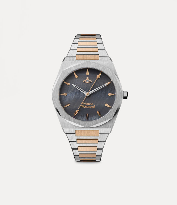 Limehouse Watch Rosegold/Charcoal 1