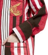 Pyjama Stripe Shirt Fuchsia
