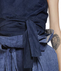 Love Me Corset Blue Denim