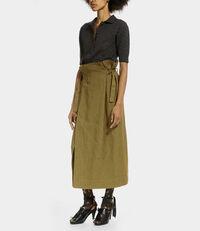 Wrap Skirt Khaki
