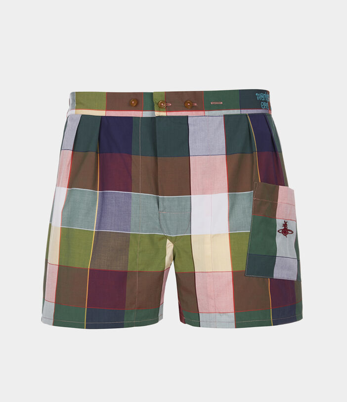 We Boxer Shorts Gingham Multi 1