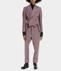 James Bond Cropped Trousers Mauve