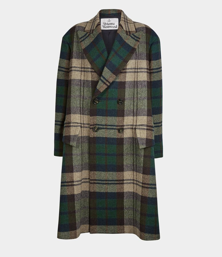Vivienne Westwood Princess Coat Invisible Green