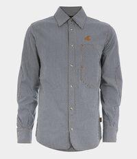 Lars Workman Shirt Blue/White