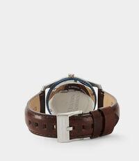 Holborn II Watch Silver/Brown