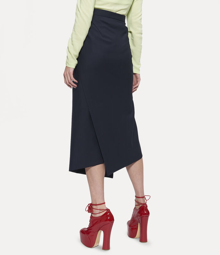 Midi Infinity Skirt Black 3