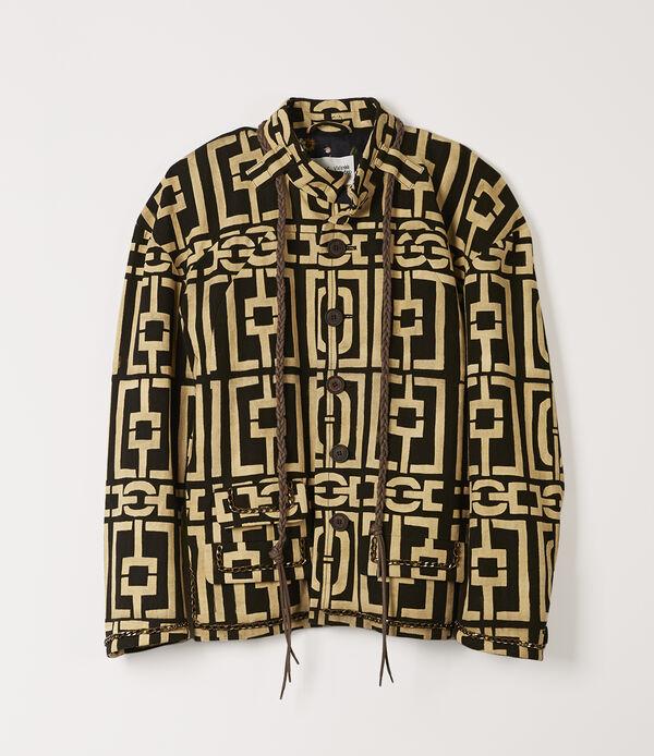 Cocco Jacket Black/Natural