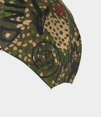 Camouflage Long Umbrella Dark Green