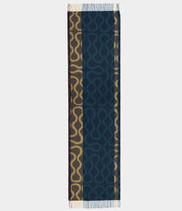 Super Squiggle Scarf Navy