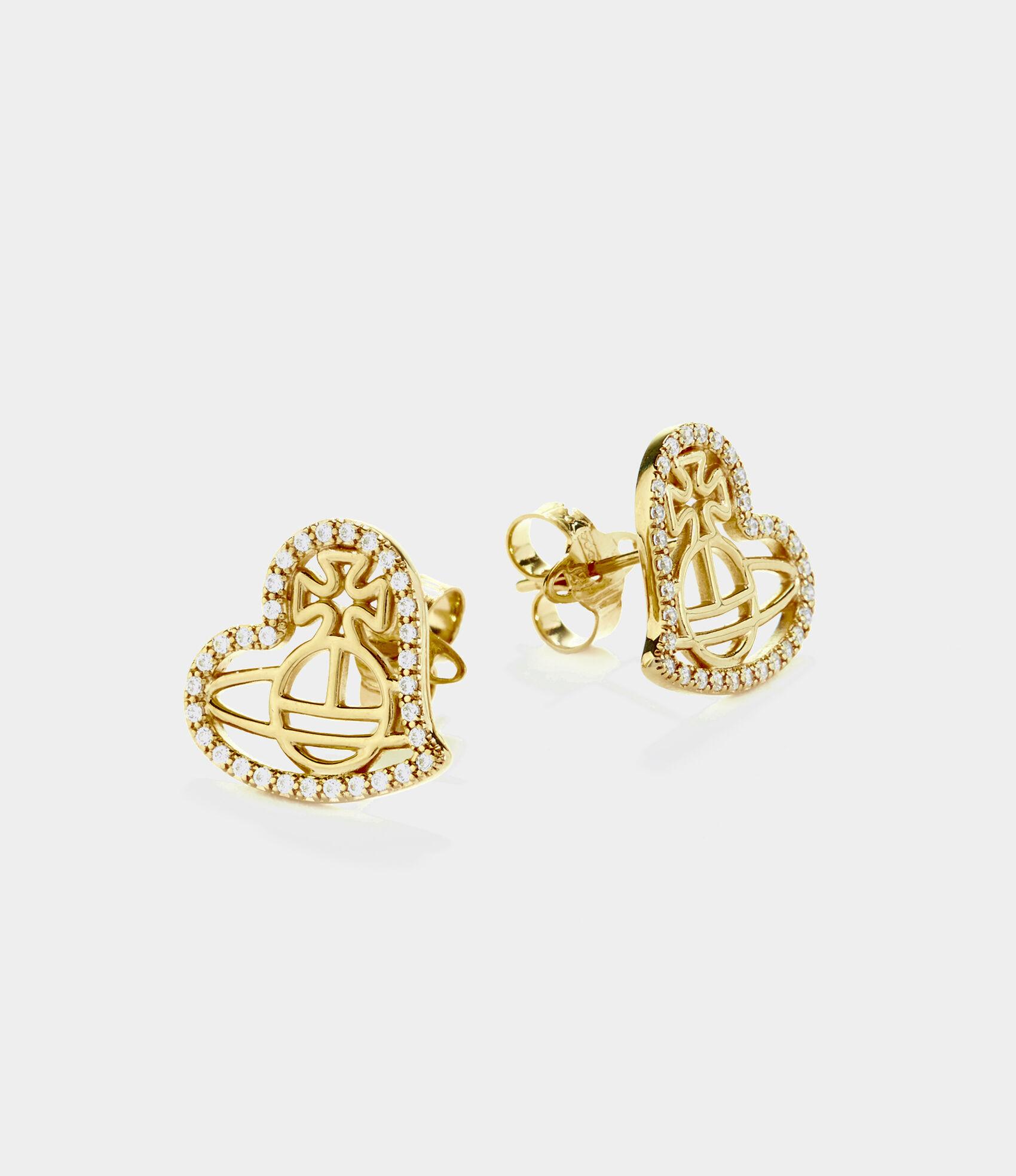 a0c329b15 Vivienne Westwood Earrings | Women's Jewellery | Vivienne Westwood - Giuseppa  Stud Earrings Gold Tone