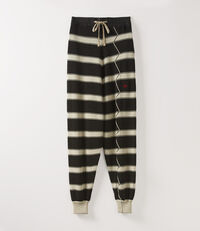 Knit Pants Natural/Black