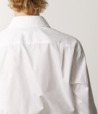 Two Button Cutaway Shirt White